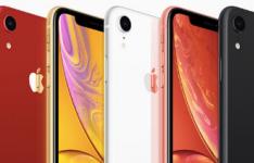 苹果iPhone XR拥有6.1英寸的屏幕和AI辅助单镜头后置摄像头 并提供6种颜色