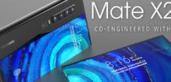 Mate X2 显然是华为的第二代折叠屏手机