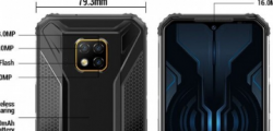 Doogee S95 Pro是具有Helio P90芯片组的IP69K等级模块化电话