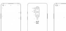 所谓的OnePlus 8 Pro智能手机图表泄漏了四摄像头设置