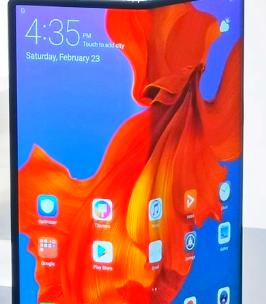 华为在中国发布了可折叠手机MateX没有谷歌Google应用