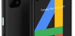 谷歌推出的价格实惠的最新Pixel手机是Pixel 4a