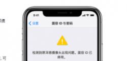 了解一下iPhoneX设置面容id不可用的相关内容