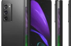 三星Galaxy Z Fold 3可能在铰链中包括一个指示灯