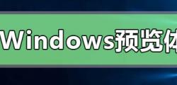 Win10没有Windows预览体验计划怎么解决