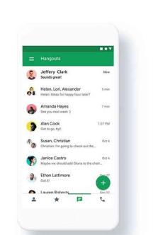 谷歌详细计划计划使聊天免费并迁移环聊用户