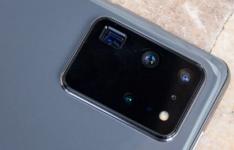 三星Galaxy S21 Ultra泄漏显示四个后置摄像头旁边的神秘传感器