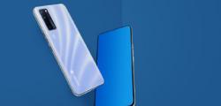 中兴AXON 20 5G至尊版智能手机为橙色设计