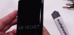 LGVelvet5G它带有可拆卸的第二个显示屏