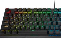 海盗船推出了首款使用Cherry Viola机械开关的机械游戏键盘