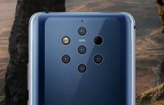 诺基亚9 PUREVIEW的首次更新带来了相机优化增加了面部解锁等功能
