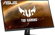 华硕推出了用于游戏的新型TUFGamingVG27AQ1ALED显示器