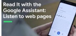 谷歌Assistant更新允许大声读出网页