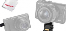 用于索尼和佳能相机的Pergear INKEE IRONBEE拍摄三脚架和自拍杆三脚架