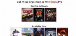下个月将有更多谷歌Stadia Pro游戏上市