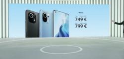 小米已在全球市场正式推出了小米Mi11智能手机其价格从749欧元开始