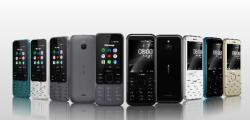 两款诺基亚新功能手机现已在英国上市
