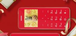20美元的D.Phone F2按钮电话没有物理按钮