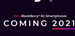 黑莓距离大型5G智能手机卷土重来越来越近