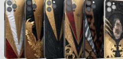 鱼子酱推出第二个苹果iPhone12ProWarrior系列
