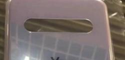 LGV60ThinQ后面板可能四摄像头设置泄漏