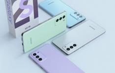 三星GalaxyS21FE智能手机渲染图呈现四种新鲜色彩