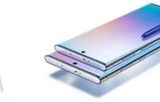 三星GalaxyNote10智能手机的后置摄像头设置可能看起来像这样