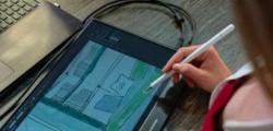 4K触摸屏显示器Desklab是一款新型的超轻巧便携式4K触摸屏显示器现已开始预购
