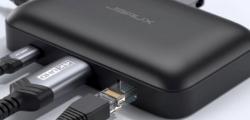 OmniCase7端口USBC集线器和电缆整理器