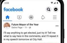 Facebook正在添加标签以结束对讽刺账户帖子的困惑