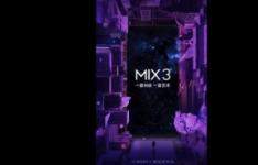 小米MiMix2于去年推出并于今年早些时候推出了后续产品MiMix2S