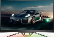 保时捷设计公司和AOC宣布将在下周初推出一款新的游戏显示器