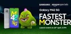 三星GalaxyM425G将于4月28日与Snapdragon750G一起到货