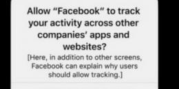 苹果将抛弃用户以选择跟踪的应用程序