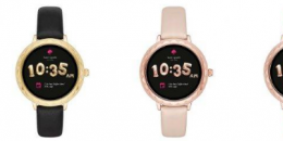 KateSpadeNewYork触摸屏智能手表是时尚的女性可穿戴设备