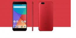 小米MiA1的红色版本现已在尼西亚上市