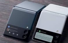 这些三星GalaxyZFlip3智能手机渲染基于泄漏的图像