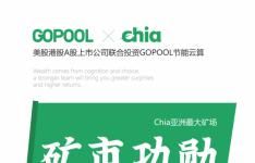 全球最大的节能CHIA云算节能矿池GOPOOL狗池是什么?