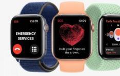 苹果的watchOS8包含冥想和太极和肖像和GIF支持