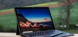 联想ThinkPadX12可拆卸评测SolidSurfacePro替代品